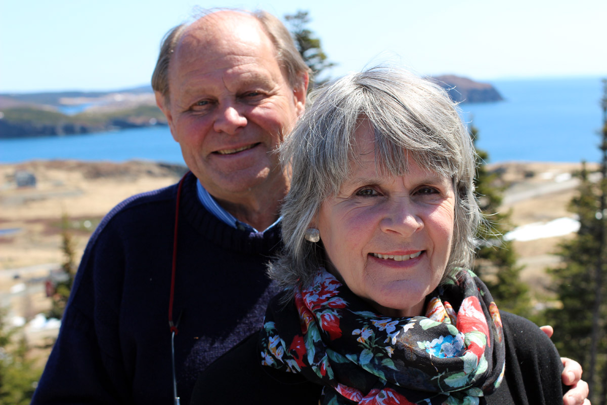 John and Peggy Fisher
